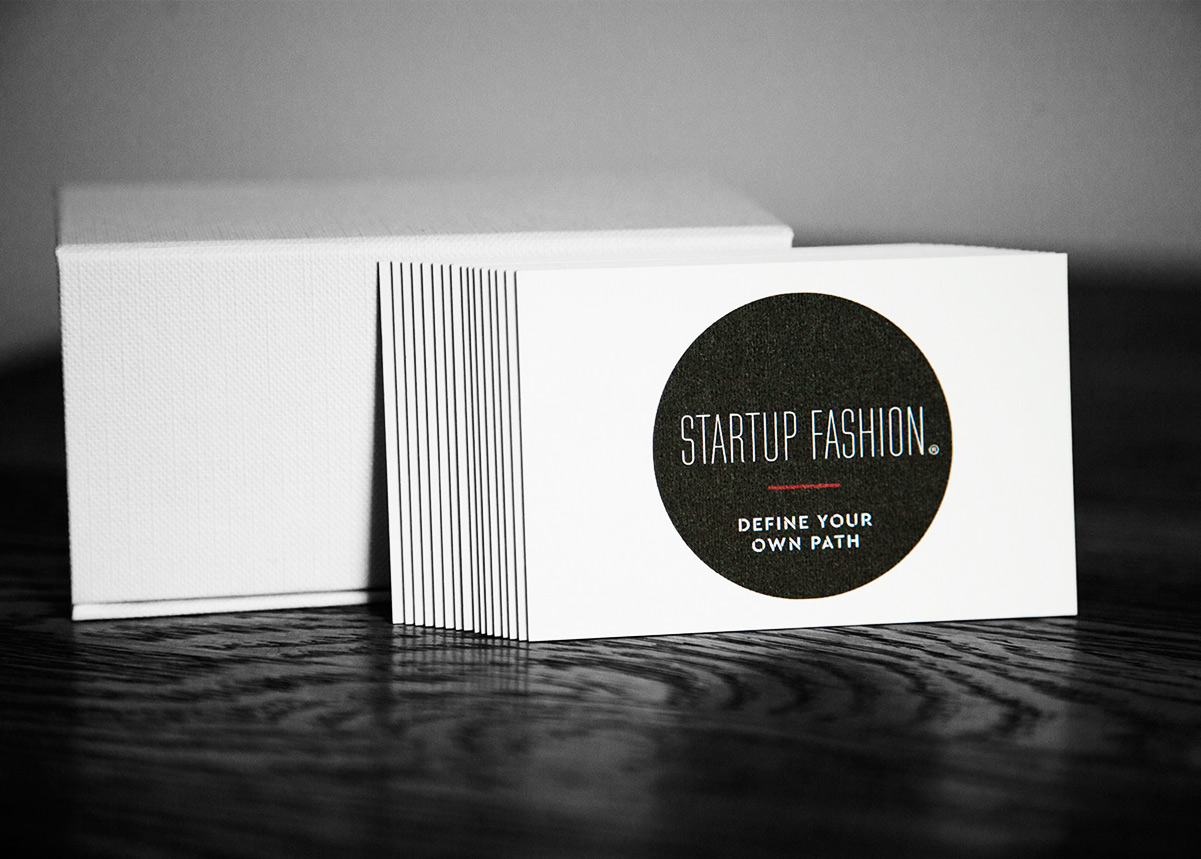 StartUp Fashion Business Cards